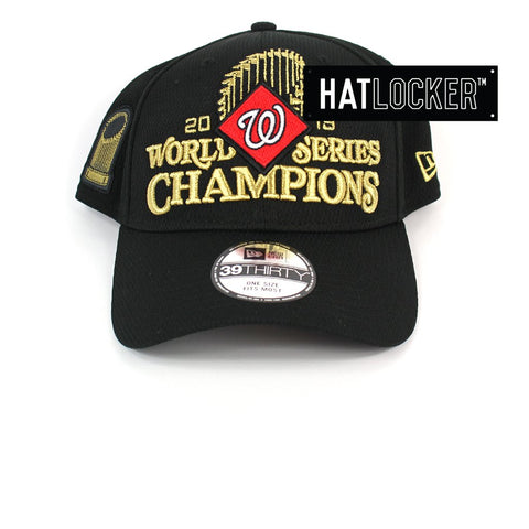 New Era Washington Nationals World Series Champions Locker Room Stretch Fit