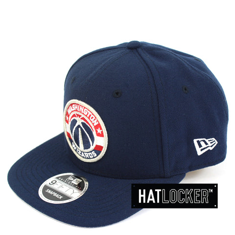 Hat Locker Australia New Era NBA Washing Wizards Mix Up Snapback Hat Side