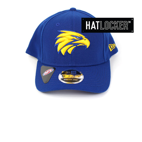 New Era West Coast Eagles 2019 Core Precurved Snapback Hat