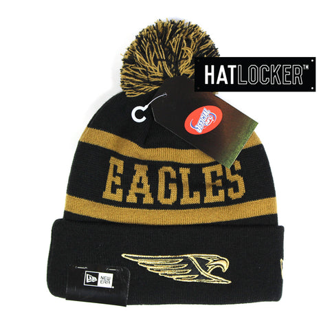 New Era - West Coast Eagles Jake Beanie Gold