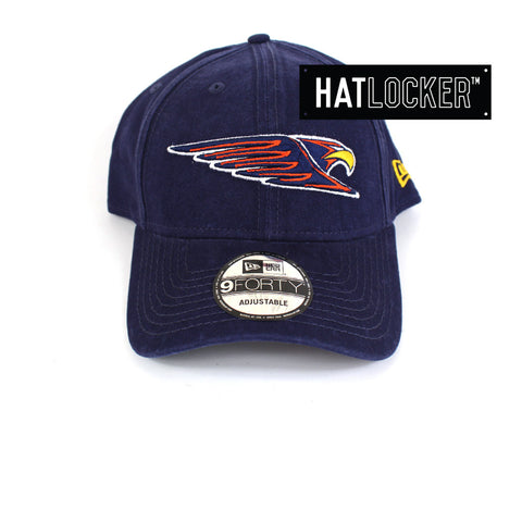 New Era - West Coast Eagles Washed Cotton Curved Brim