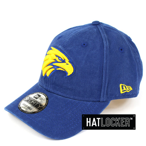New Era West Coast Eagles Winter Wash Curved Brim Cap
