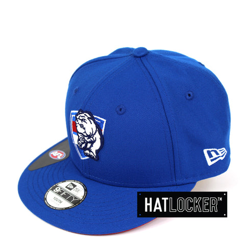 1c083f41f78 New Era Western Bulldogs 2019 Core Kids Snapback Cap