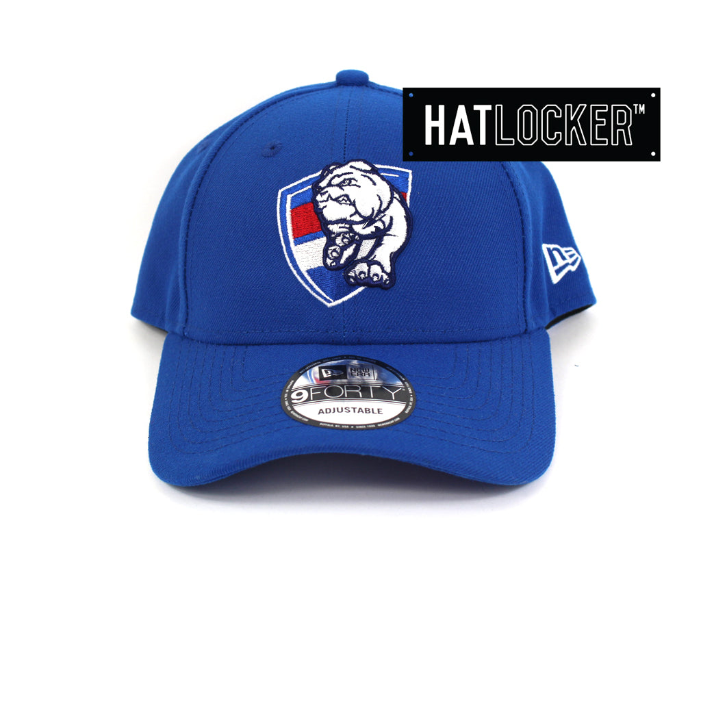 New Era Western Bulldogs Core Curved Brim Cap