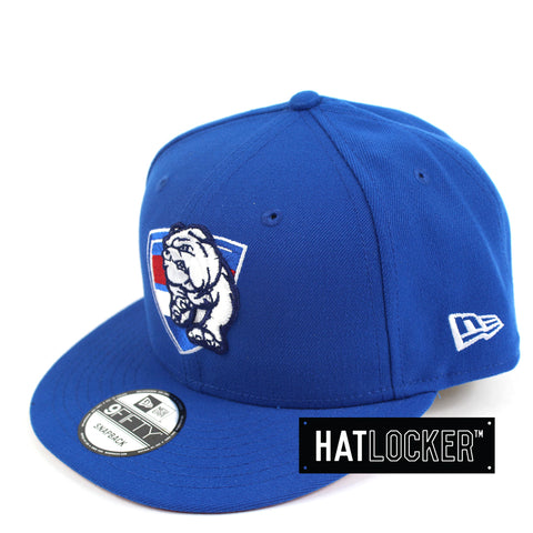 New Era Western Bulldogs Core Snapback Cap