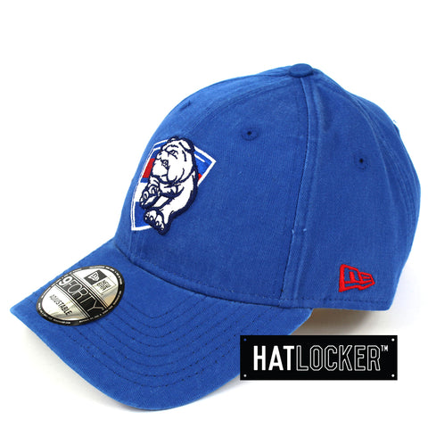 New Era Western Bulldogs Winter Wash Curved Brim Cap