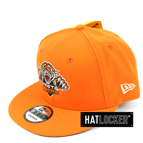 Hat Locker Australia New Era NRL Wests Tigers Core Snapback Hat Side