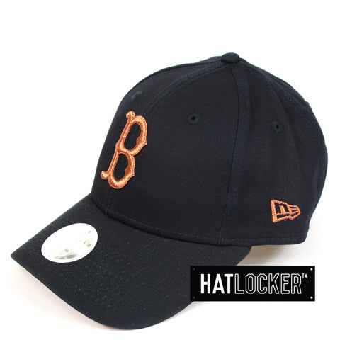 New Era Women's Boston Red Sox Rose Gold Curved Brim Cap