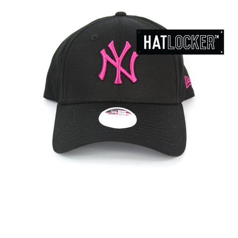 New Era Womens New York Yankees Neon Pop Beetroot Purple Curved Strapback