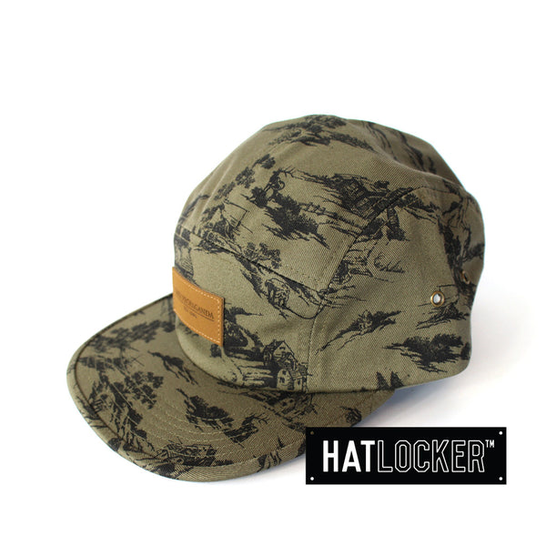 Obey Ace Army 5 Panel