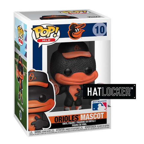Pop Vinyl Baseball MLB Mascots Baltimore Orioles The Oriole Bird