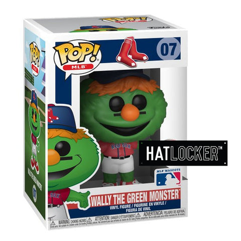 Pop Vinyl Baseball MLB Mascots Boston Red Sox Wally The Green Monster