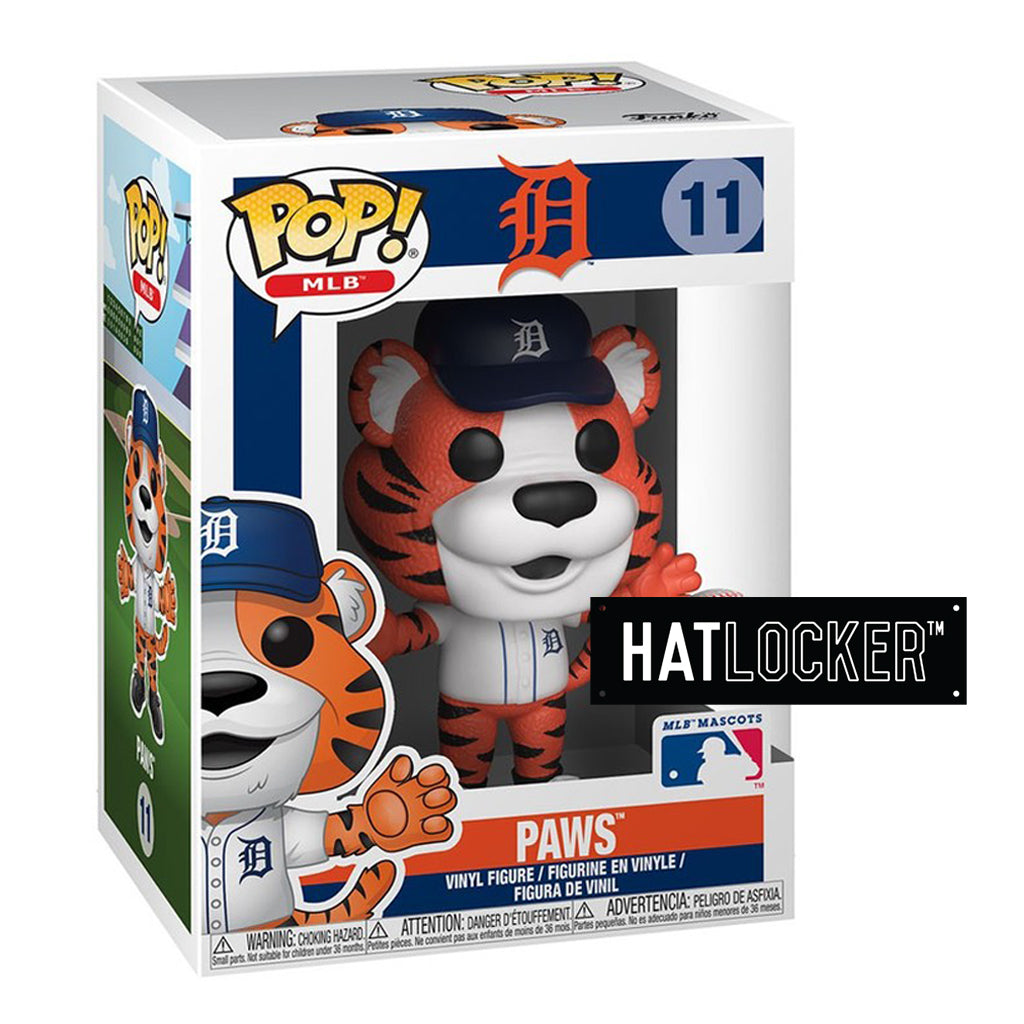 Pop Vinyl Baseball MLB Mascots Detroit Tigers Paws