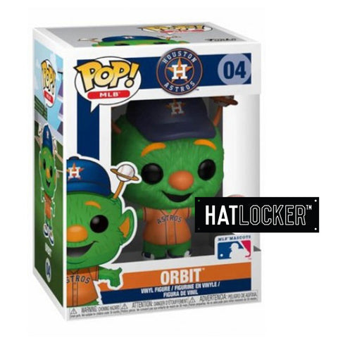 Pop Vinyl Baseball MLB Mascots Houston Astros Orbit