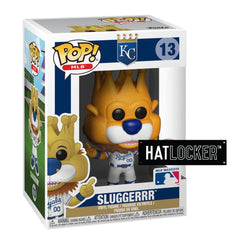 Pop Vinyl Baseball MLB Mascots Kansas City Royals Sluggerrr