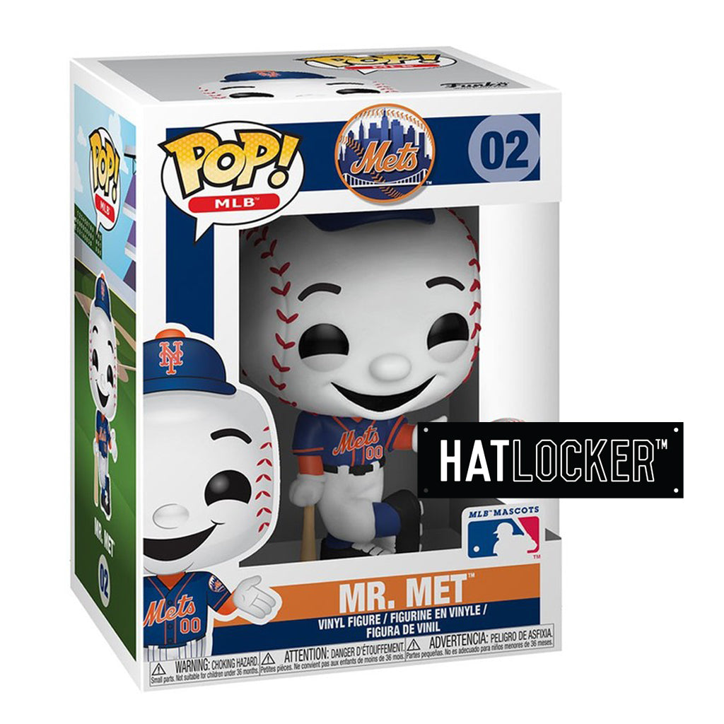 Pop Vinyl Baseball MLB Mascots New York Mets Mr. Met