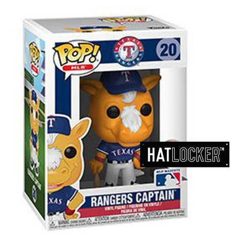 Pop Vinyl Baseball MLB Mascots Texas Rangers Rangers Captain
