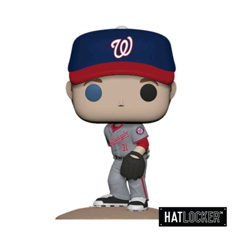 Pop! Vinyl Baseball MLB Washington Nationals Max Scherzer Grey