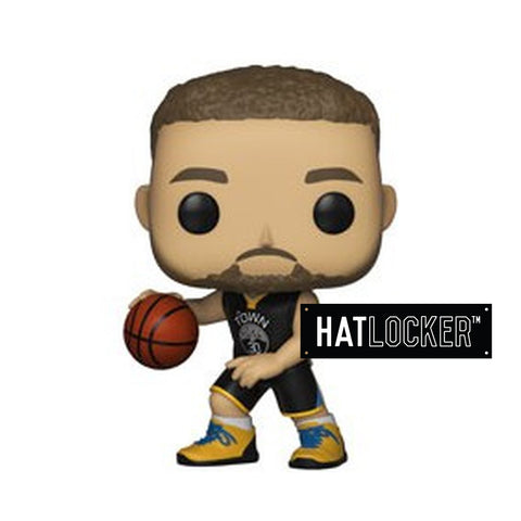 Pop Vinyl Basketball NBA Golden State Warriors Stephen Curry Black Jersey