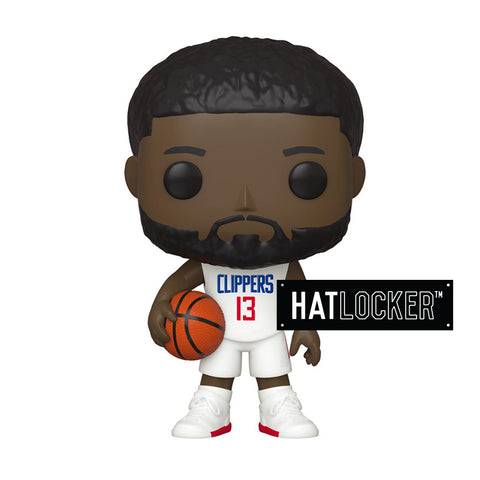 Pop Vinyl Basketball NBA LA Clippers Paul George White Uniform