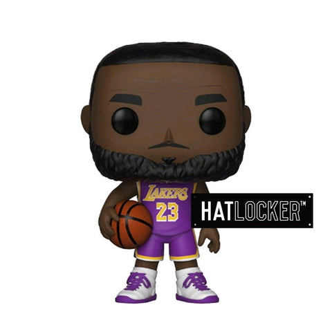Pop Vinyl Basketball NBA LA Lakers Lebron James Purple Uniform