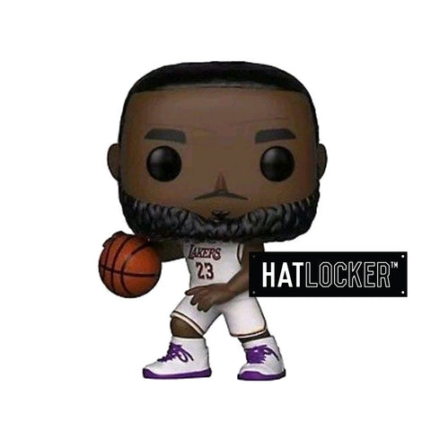 Pop! Vinyl Basketball NBA LA Lakers Lebron James White Uniform