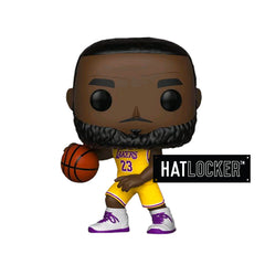Pop! Vinyl Basketball NBA LA Lakers Lebron James Yellow Uniform