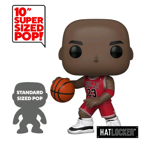 "Pop Vinyl Basketball NBA Chicago Bulls Michael Jordan 10"" Red Jersey"