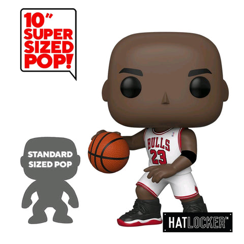 "Pop Vinyl Basketball NBA Chicago Bulls Michael Jordan 10"" White Jersey"