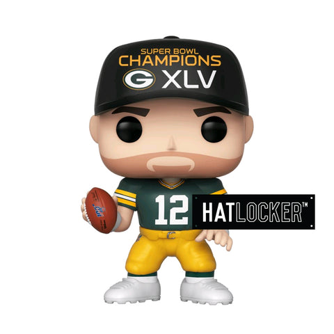 Pop Vinyl Football NFL Green Bay Packers Aaron Rodgers SB Champions XLV