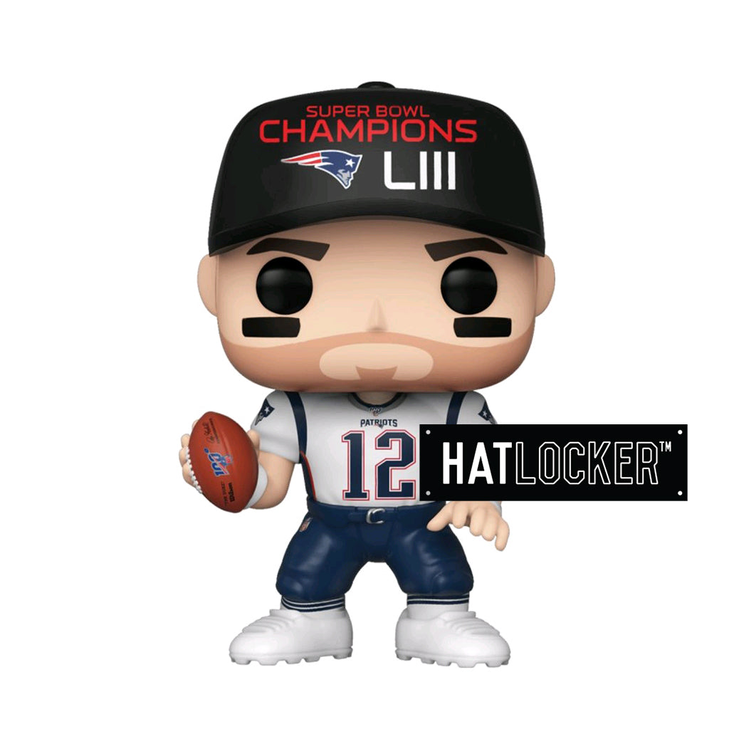 Pop Vinyl Football NFL New England Patriots Tom Brady SB Champions LIII