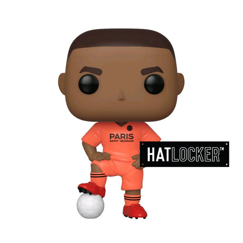 Pop Vinyl Football Paris Saint Germain FC Kylian Mbappé Orange Jersey