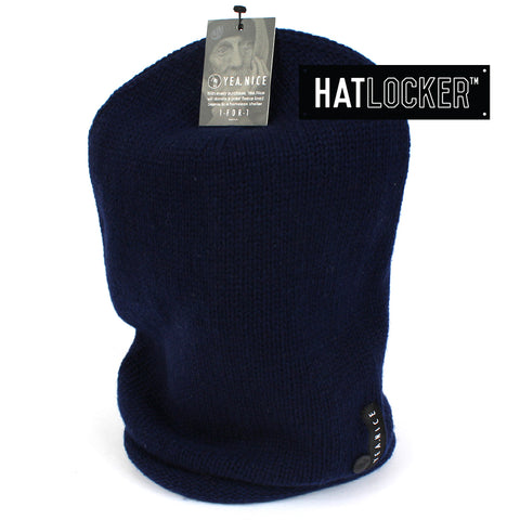 Yea.Nice Good Roll Navy Beanie