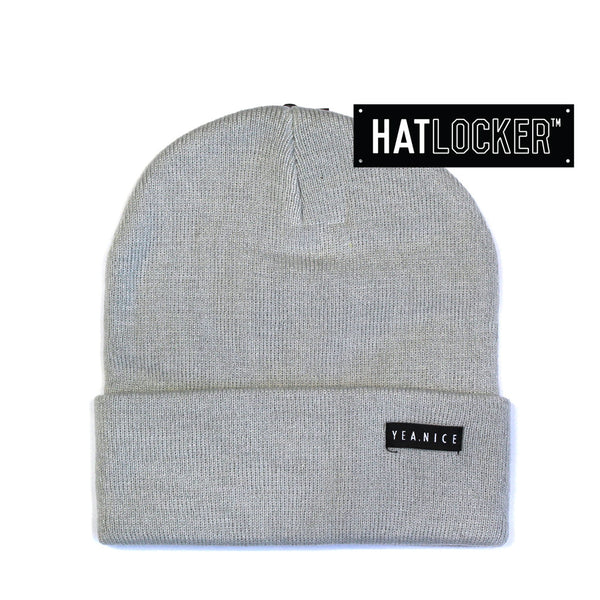 Yea.Nice - Standard Issue London Fog Beanie