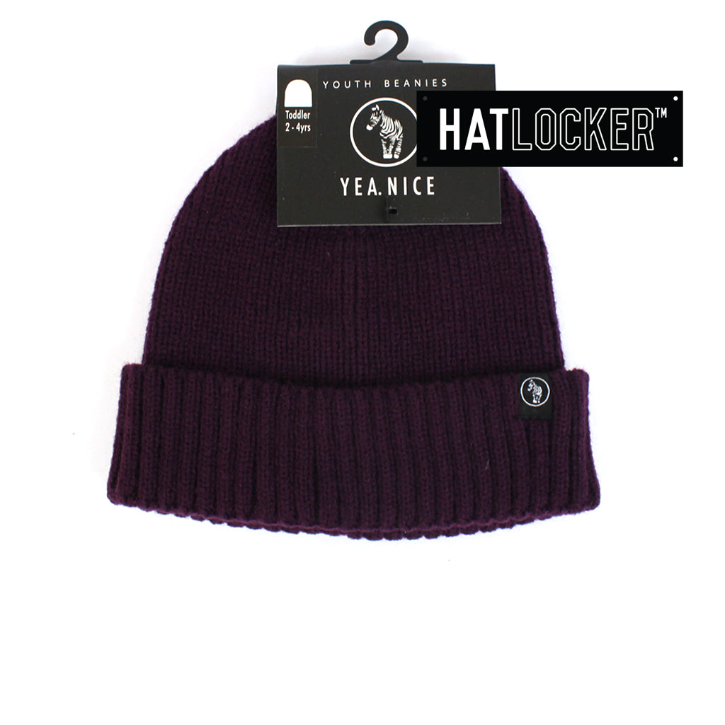 Yea.Nice Warsaw Purple Reign Toddler Beanie