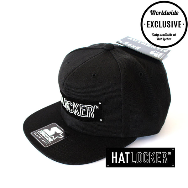 Hat Locker x Starter - Black Label Snapback II