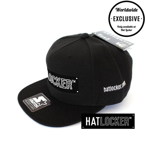 Hat Locker x Starter - Black Label Snapback