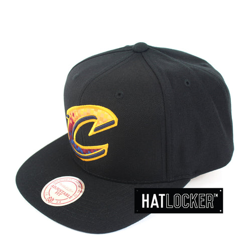 Mitchell & Ness Cleveland Cavaliers Three Digital Snapback