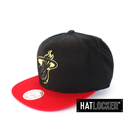 mitchell-ness-nba-miami-heat-strapback