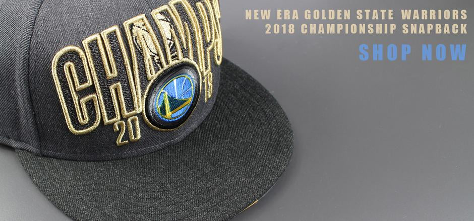 New Era Golden State Warriors 2018 Championship Snapback