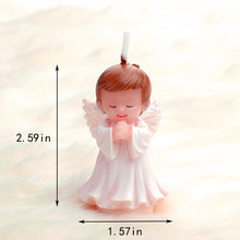 Load image into Gallery viewer, Praying Baby Angel Candle - Silver