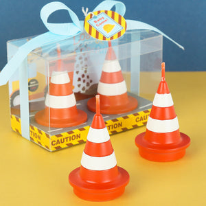 Traffic Cone Candles