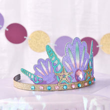 Load image into Gallery viewer, Mermaid Party Crown