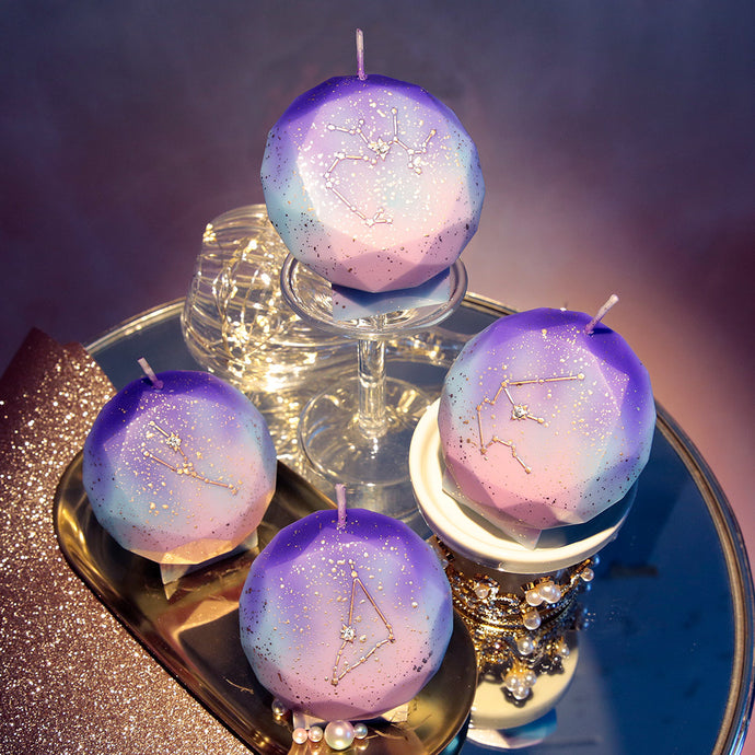Prismatic Constellation Candle
