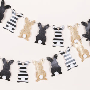 Bunny Party Pull Flags