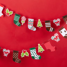 Load image into Gallery viewer, iLikePar Christmas Stockings Party Banner