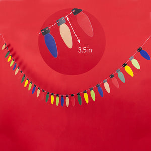 Christmas Light Pull Flags (15% off )
