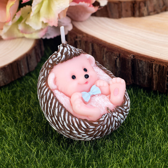 Baby Hedgehog Candle