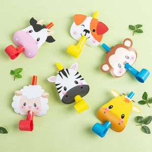 iLikePar Cute Animal Party Horns