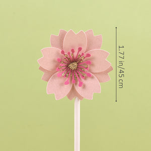 iLikePar Flower Theme Cake Topper